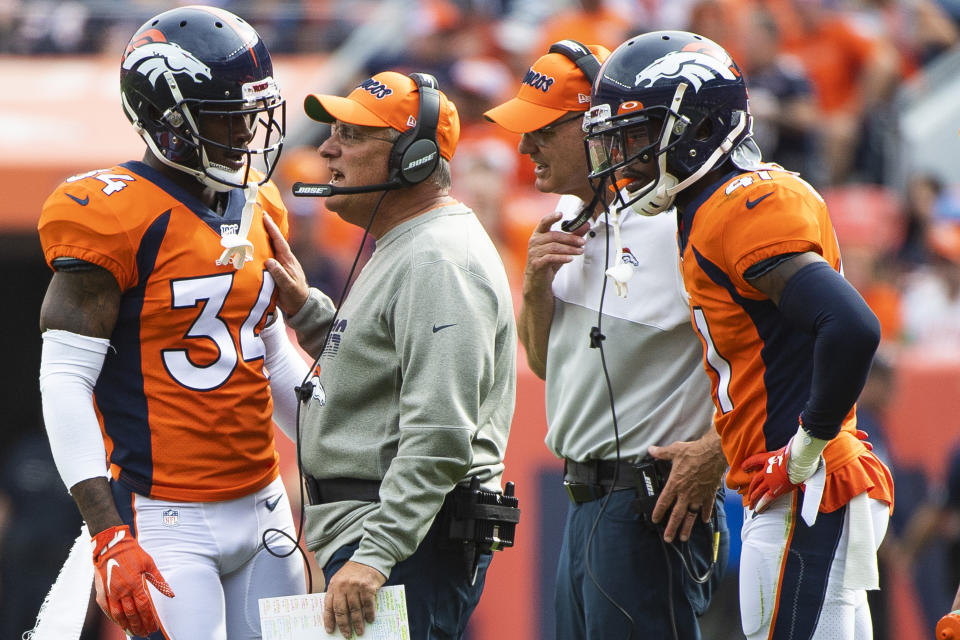 Vic Fangio is entering his second season as a head coach of the Broncos. (Photo by Timothy Nwachukwu/Getty Images)