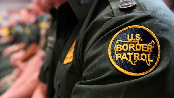 PHOTO: A Customs and Border patrol agent attends an event on immigration and border security at the U.S. Border Patrol Calexico Station in Calexico, Calif., April 5, 2019. (Saul Loeb/AFP/Getty Images, FILE)