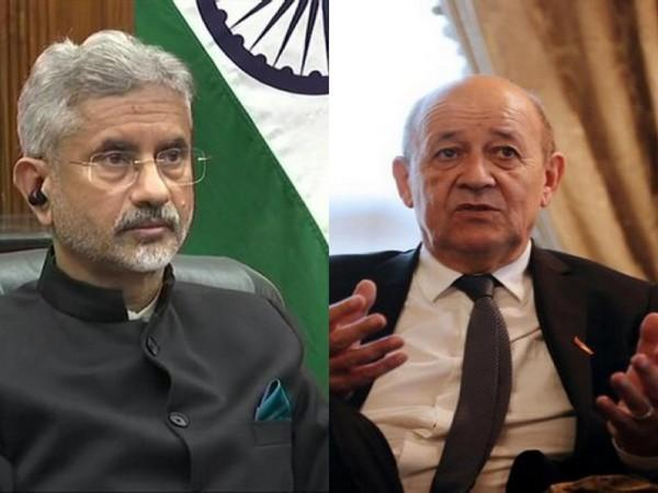 External Affairs Minister S Jaishankar and French counterpart Jean-Yves Le Drian (File photo)