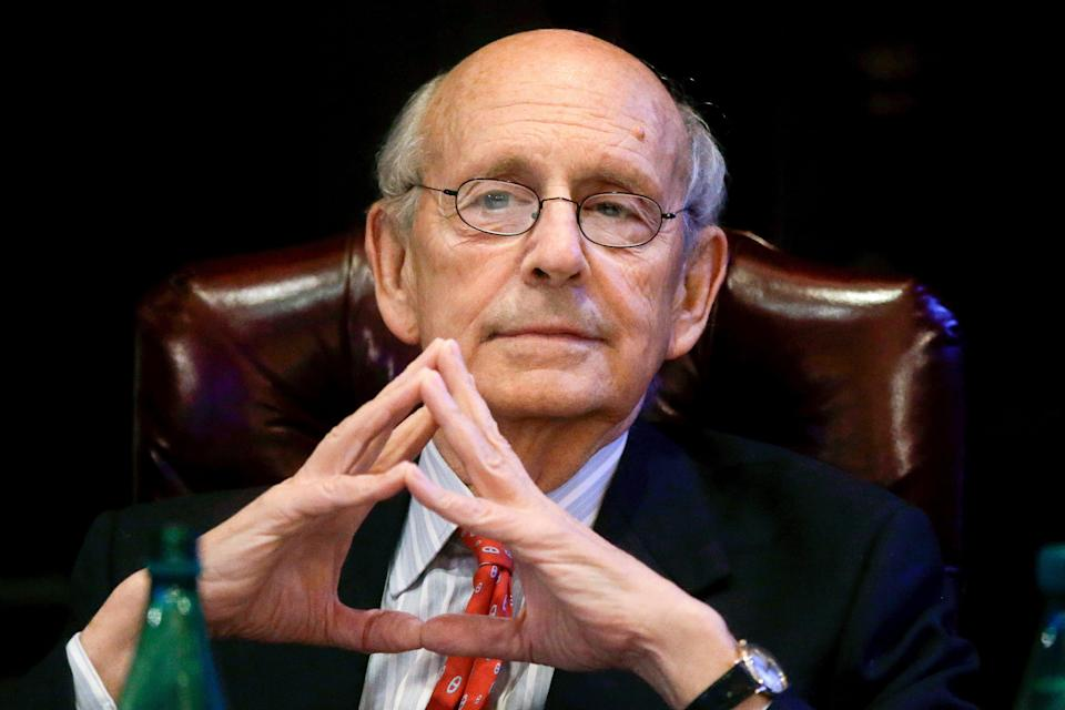 Corte Suprema Breyer  (Copyright 2017 The Associated Press. All rights reserved.)