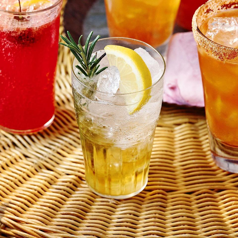 """<p>Your go-to gin sidekick just got a new best friend. Floral white port pairs perfectly with sharp fizzy tonic. Swap the rosemary for fresh mint, if you like.</p><p><strong>Recipe: <a href=""""https://www.goodhousekeeping.com/uk/food/recipes/a36874282/white-port-tonic/"""" rel=""""nofollow noopener"""" target=""""_blank"""" data-ylk=""""slk:White Port and Tonic"""" class=""""link rapid-noclick-resp"""">White Port and Tonic</a></strong></p>"""