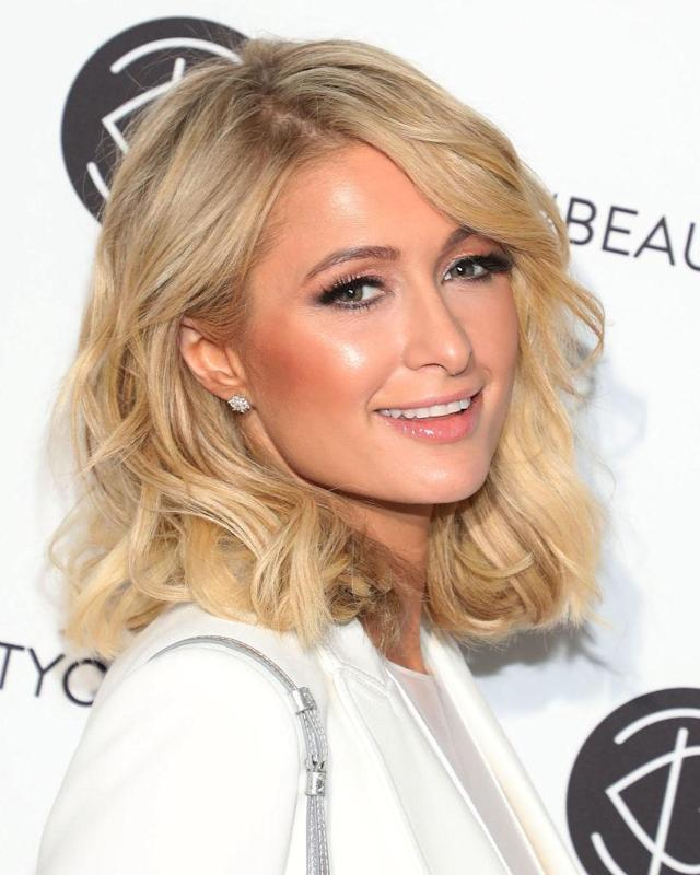 Hilton says that her complexion is a result of good skin care and staying out of the sun. (Photo: Getty Images)