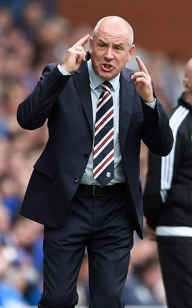 <span>Mark Warburton tried to un-resign at Rangers</span> <span>Credit: PA </span>