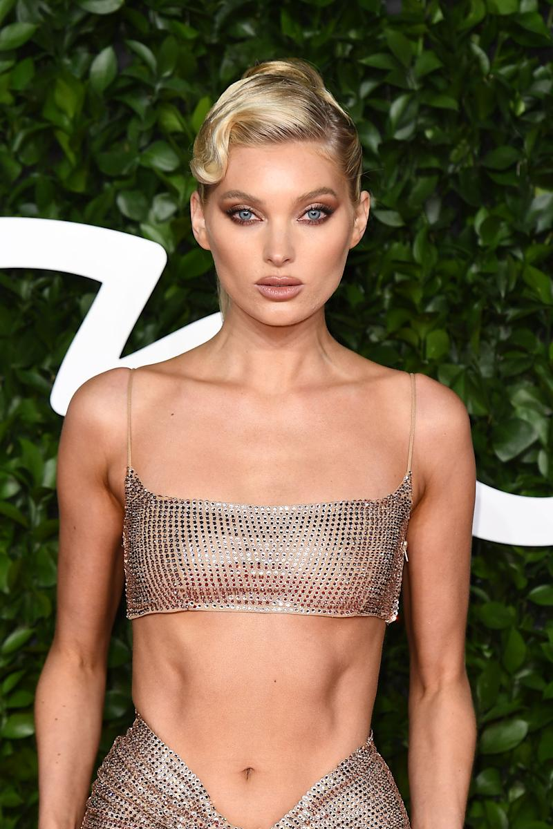 Elsa Hosk wowed in an ab-baring two-piece. Photo: Getty Images