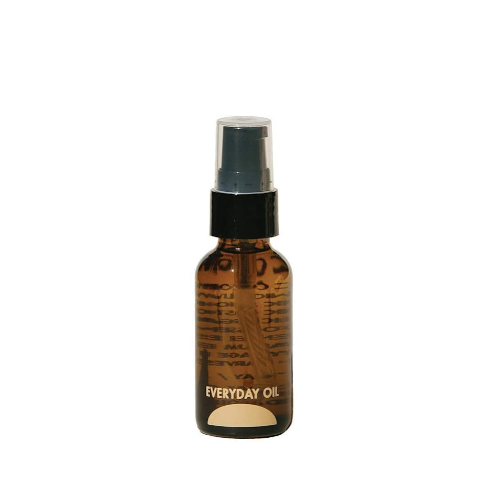 """<h3>Everyday Oil Mainstay Blend</h3><br><strong>Amanda</strong><br><br>""""This truly the best oil for face, hair, and cuticles I've used. I have tried many different oils for my face, but Everyday Oil is the one I keep going back to time and time again. Not only does it smell fantastic, but it's not a heavy, goopy oil that clogs your pores. In fact, whenever I have a breakout, I slather this on at night and I SWEAR to you, the pimples have shrunk. I use it at night (sometimes after a serum, sometimes just by itself after exfoliating) and when I wake up, my skin is baby soft and plump. The company is made up of only a handful of people, but they are doing awesome things!""""<br><br><strong>Everyday Oil</strong> Mainstay Blend, $, available at <a href=""""https://amzn.to/3hCGsPk"""" rel=""""nofollow noopener"""" target=""""_blank"""" data-ylk=""""slk:Amazon"""" class=""""link rapid-noclick-resp"""">Amazon</a>"""