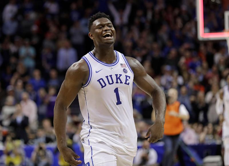 Zion Williamson delivered one of the most exciting campaigns in NCAA history. Now he's back in time to deliver March moments for an iconic program. (AP)