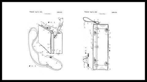 One of Bernard Sadow's patents - Credit: United States Patent Office