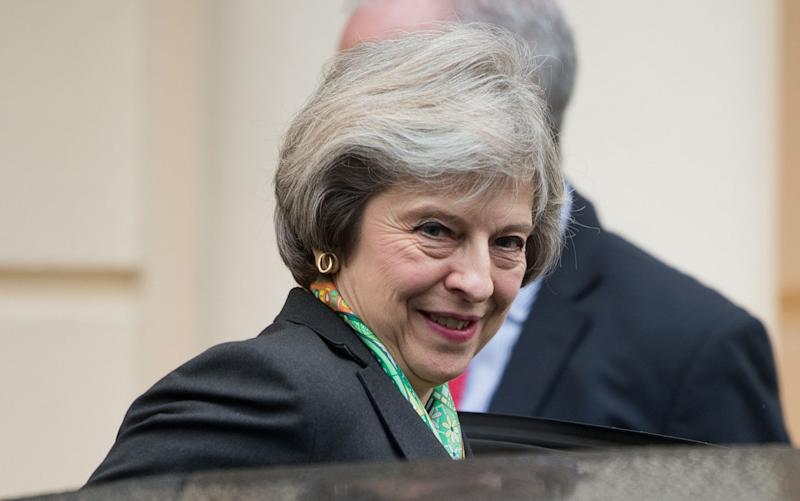 Prime Minister Theresa May - Credit: REX/Shutterstock
