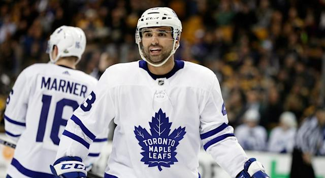 Nazem Kadri didn't have a whole lot to protest. (Getty)