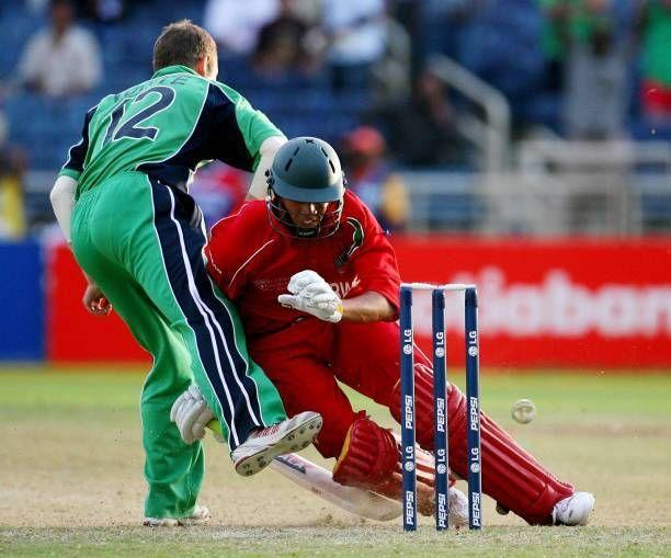 Ireland vs Zimbabwe match ended in a tie