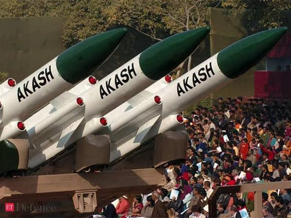 Akash air defence missile systems (File Photo)