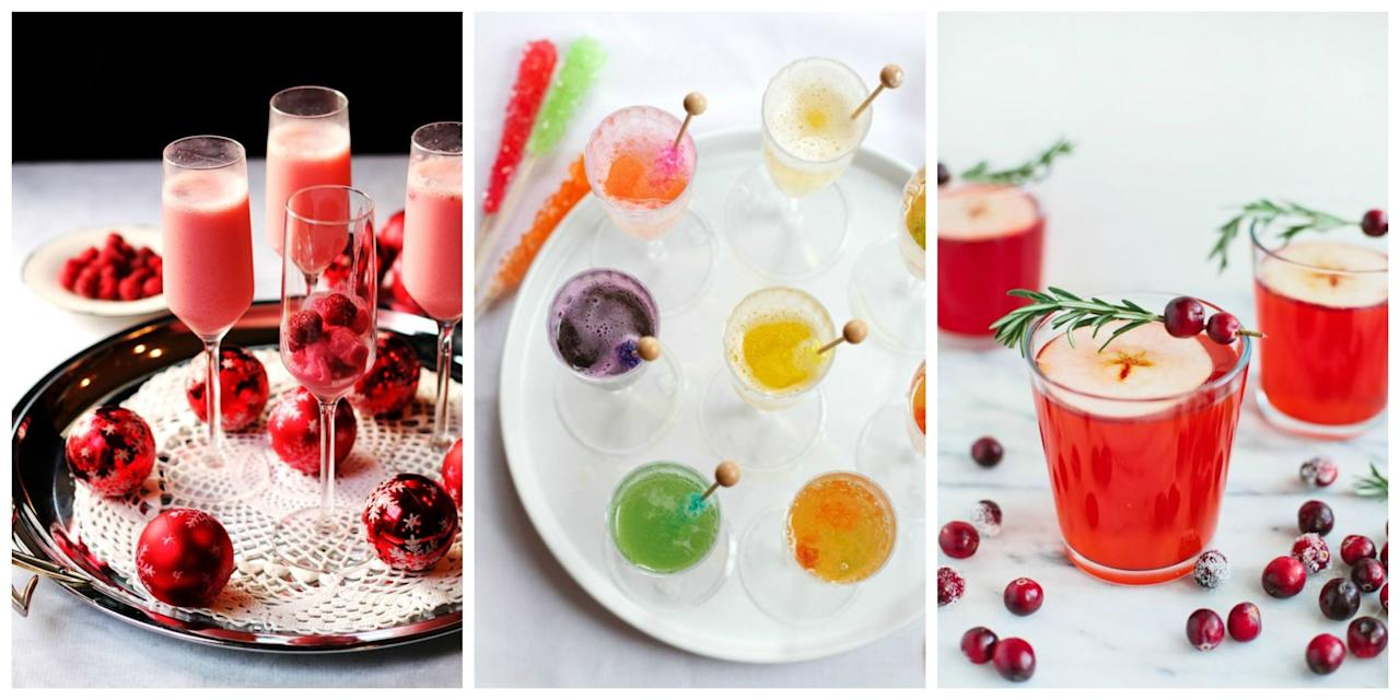 "<p>Celebrate Christmas with these easy mocktail recipes. Want some booze? Try our <a rel=""nofollow"" href=""http://www.womansday.com/food-recipes/food-drinks/g2006/christmas-cocktails/"">festive Christmas cocktails</a>!</p>"