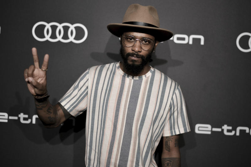 Lakeith Stanfield attends the 2019 Primetime Emmy Awards - Audi pre party at the Sunset Tower Hotel on Thursday, Sept. 19, 2019, in West Hollywood, Calif. (Photo by Richard Shotwell/Invision/AP)
