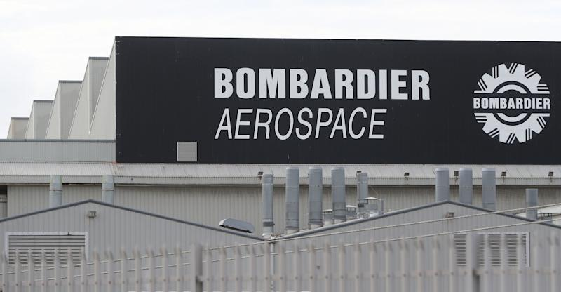 A general view of the Bombardier Aerospace plant in Belfast, as a preliminary US finding on a trade dispute which could threaten thousands of Northern Irish jobs is due later. (Photo by Niall Carson/PA Images via Getty Images)