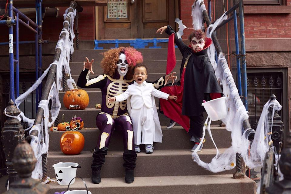 """<p>Answer: According to INSIDER, 72% of parents have <a href=""""https://www.insider.com/halloween-fun-facts-2019-10#but-not-all-that-candy-goes-to-the-kids-72-of-parents-have-admitted-to-stealing-their-childrens-candy-6"""" rel=""""nofollow noopener"""" target=""""_blank"""" data-ylk=""""slk:admitted to stealing their kids Halloween candy"""" class=""""link rapid-noclick-resp"""">admitted to stealing their kids Halloween candy</a>. And really, can you blame them? </p>"""