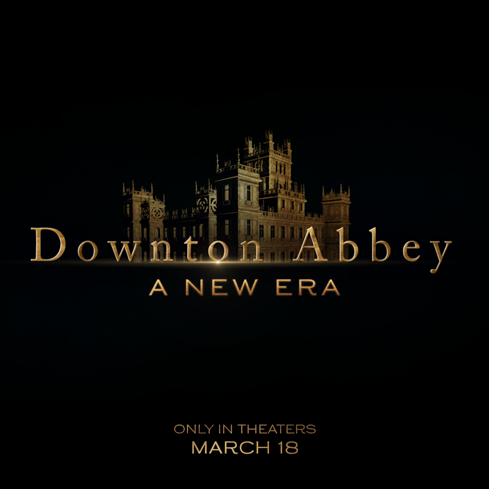 The title treatment for Downton Abbey: A New Era (Universal Pictures/Focus Features)