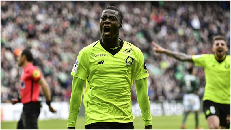 Nicolas Pepe a good fit for PSG - Galtier