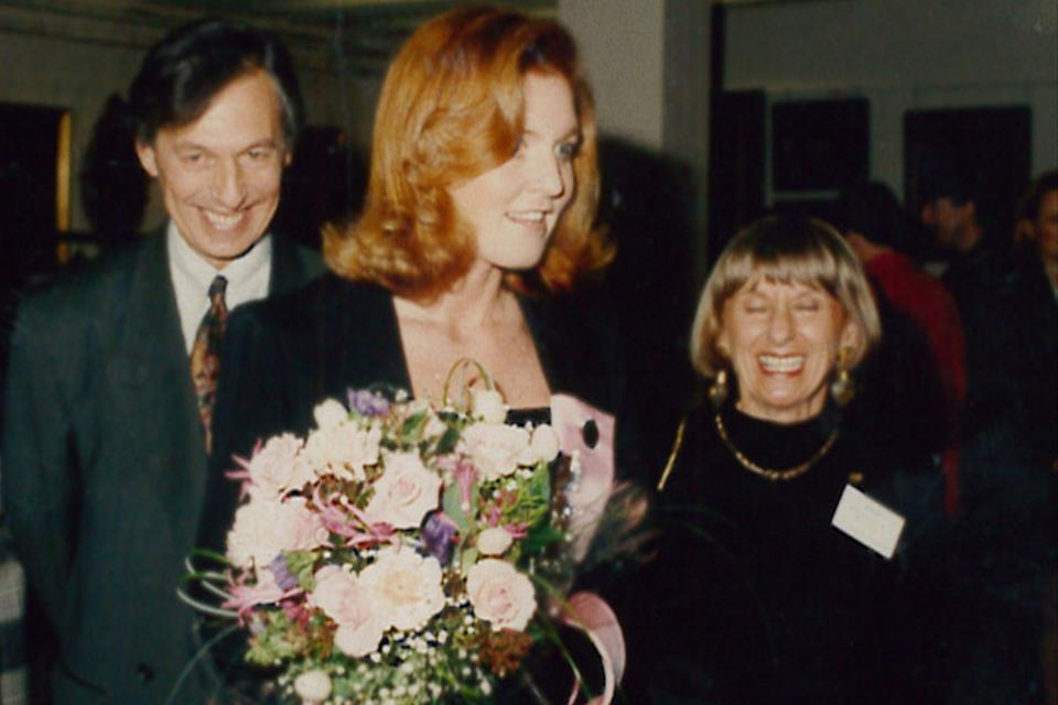 The Duchess of York opening Teenage Cancer Trust's first unit in 1990PA