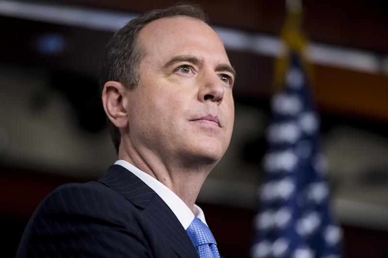 House Intelligence ranking member Adam Schiff, D-Calif., participates in the House Democrats' news conference on President Trump and Russia ties on May 17, 2017. (Photo: Bill Clark/CQ Roll Call)