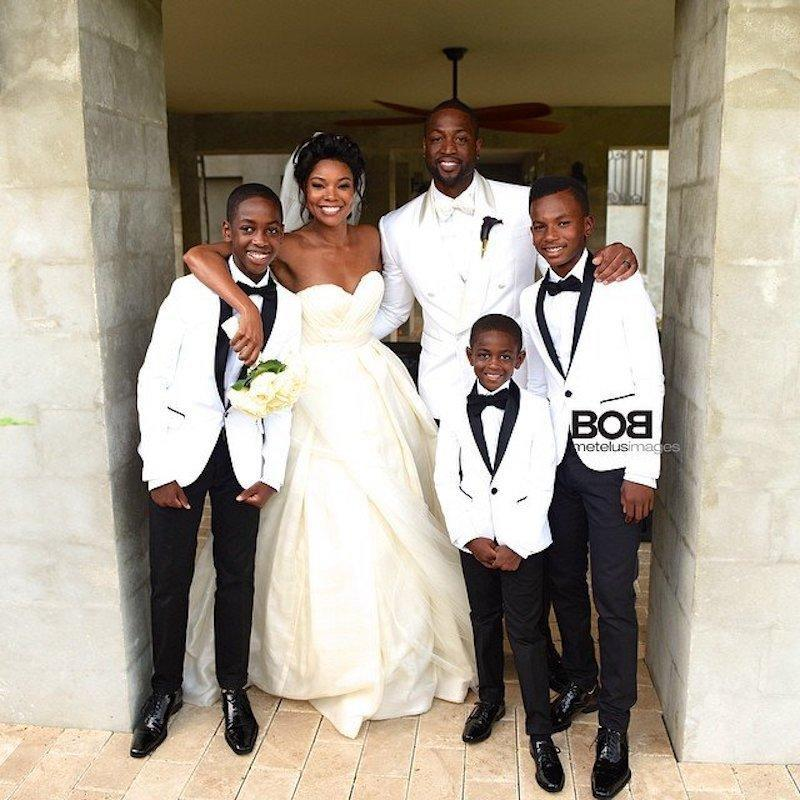 """<p>""""The Wade Union"""" is one to envy, that's for sure. The NBA superstar and <i>Being Mary Jane</i> actress tied the knot in 2014 after five years together, and their fairy-tale day was nothing short of magical. """"Love is waking up to your smile and as tough as I am, love is never wanting to go sleep to your frown… Love isn't about winning, love isn't about losing. Love is simply choosing and I choose you,"""" <a rel=""""nofollow noopener"""" href=""""http://www.huffingtonpost.com/entry/gabrielle-union-and-dwayne-wades-wedding-video-is-pretty-much-perfect_us_5627afe1e4b08589ef49fdbf"""" target=""""_blank"""" data-ylk=""""slk:Wade declared in his vows"""" class=""""link rapid-noclick-resp"""">Wade declared in his vows</a>. Three years in and the couple is as strong as ever. """"He's my best friend,"""" Union told <i>People</i>. """"All we do is laugh when we're together."""" <a rel=""""nofollow"""" href=""""https://www.yahoo.com/celebrity/instacram-gabrielle-union-dwyane-wade-slideshow-wp-130838762.html"""" data-ylk=""""slk:And take amazing vacations;outcm:mb_qualified_link;_E:mb_qualified_link;ct:story;"""" class=""""link rapid-noclick-resp yahoo-link"""">And take amazing vacations</a>! (Photo: Gabrielle Union via Instagram) </p>"""