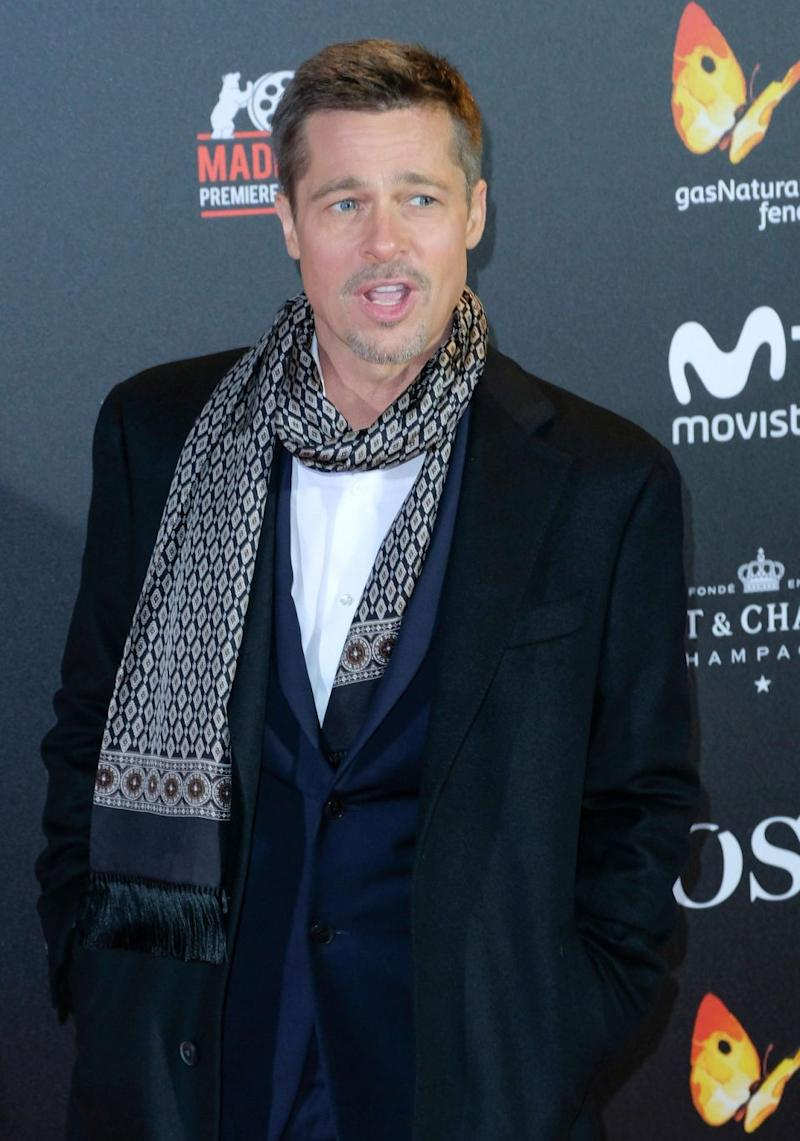 Brad Pitt has refused to comment on what his publicist terms 'the situation' between Jennifer Aniston and Justin Theroux, who've announced they have split. Source: Getty