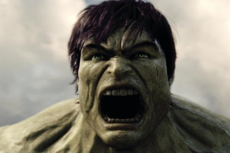 The Hulk in a scene from the film based on the Marvel character
