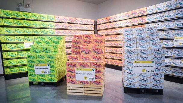 PHOTO: Display of La Croix sparkling beverages in the new Whole Foods Supermarket in the Brooklyn, N.Y., in this July 30, 2016 file photo. (Richard B. Levine/Newscom, FILE)
