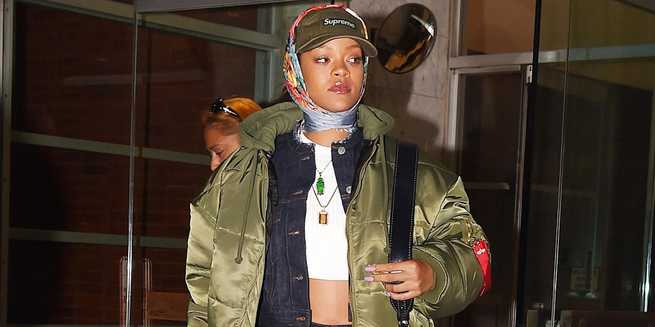 "<p>Rihanna is just as much a sartorial risk taker as she is a musical hit maker. Leave it to the singer to step out in a sheer dress with nothing underneath, an ensemble made entirely of pink fur, or her special edition chaps-style Manolo boots under only a t-shirt.</p><p>She may crush the <a rel=""nofollow"" href=""http://www.harpersbazaar.com/celebrity/red-carpet-dresses/g2150/rihanna-style-and-beauty-transformation/"">red carpet</a> each time she walks on it (the 2014 CFDA's, anyone?) but don't let that distract from her equally impressive streetwear. Here, keep up to date on her boldest looks. </p>"