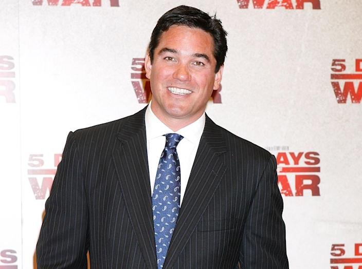 """<p>Former Superman Dean Cain was originally a Ted Cruz supporter, but says his hand was forced. 'I'm not voting for Bernie Sanders and I'm not voting for Hillary Clinton, so I guess that makes me a Trump guy,' he told <a rel=""""nofollow noopener"""" href=""""http://www.dailymotion.com/video/x49p3sx"""" target=""""_blank"""" data-ylk=""""slk:Fox and Friends"""" class=""""link rapid-noclick-resp"""">Fox and Friends</a>. </p>"""