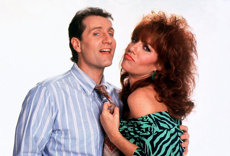 """Ed O'Neill, left, and Katey Sagal starred in the long-running hit sitcom """"Married... with Children."""""""
