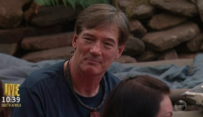 David Oldfield has not been popular with other campmates after entering the jungle. Source: Supplied