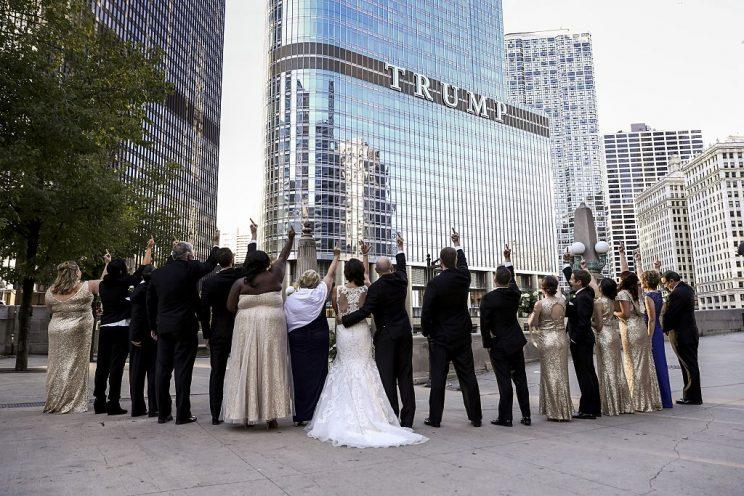 A joke protest from a wedding party has made national headlines. (Photo by Bilgin S. Sasmaz/Anadolu Agency/Getty Images)