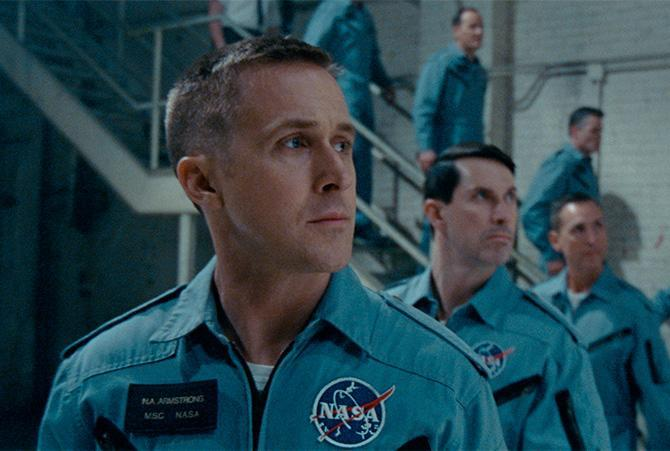 Ryan Gosling en First Man (Universal Pictures)