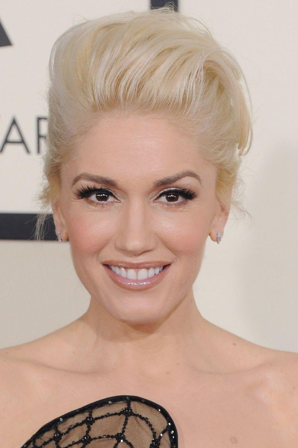 <p>The original bleached blonde icon, Gwen Stefani's platinum hair is totally timeless.</p>