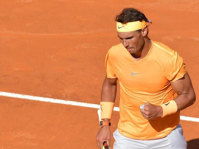 Rampant Rafa Nadal beats Novak Djokovic to reach Italian Open final