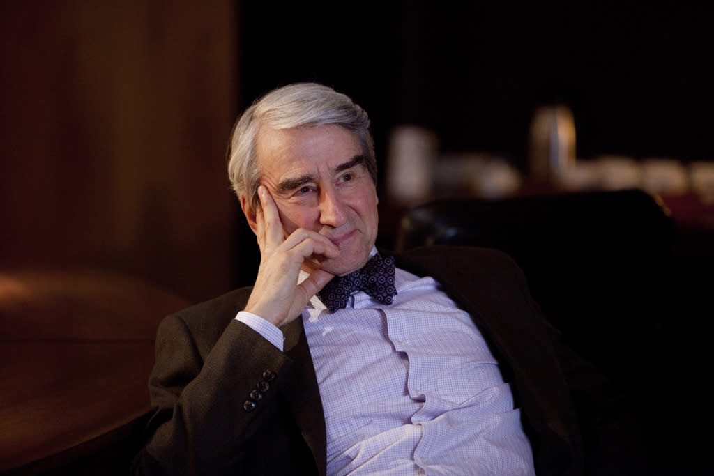 "Sam Waterston in ""The Newsroom"" on HBO."