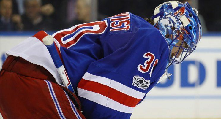 Henrik Lundqvist has fought a lot of battles with the Rangers over the years. (Bruce Bennett/Getty Images)