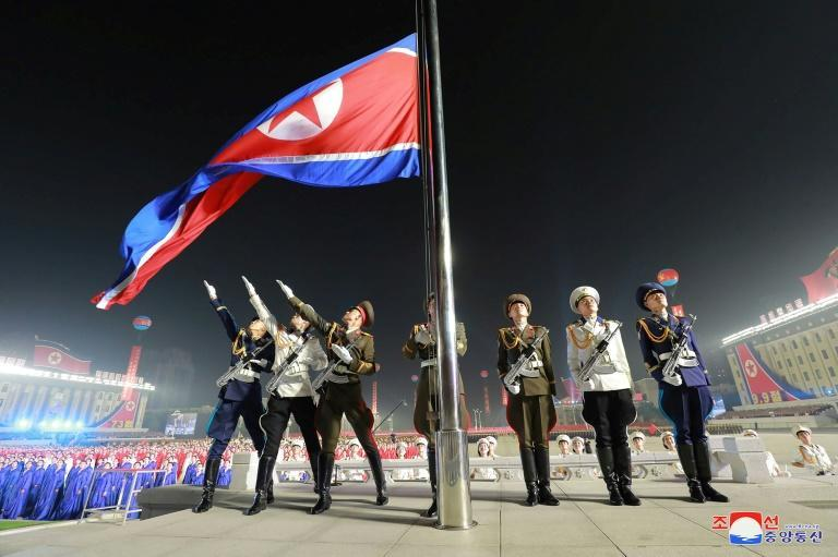 Pyongyang has previously used parades to send messages to audiences abroad and at home, usually timing them to coincide with anniversaries (AFP/STR)