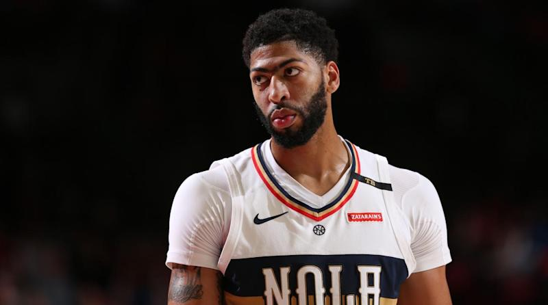 c771f827043b NBA Trade Rumors  Anthony Davis Looking to Leave Pelicans  Carmelo Anthony  Just Wants Happiness