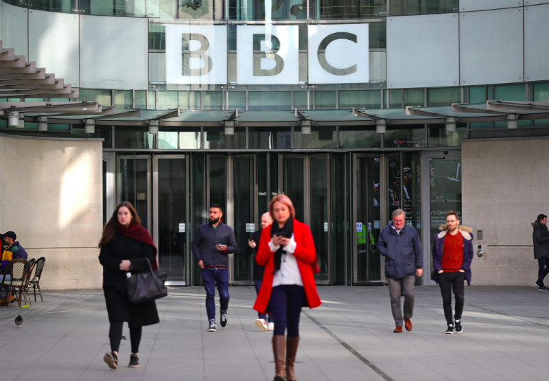 Image result for bbc to send home 450 employees