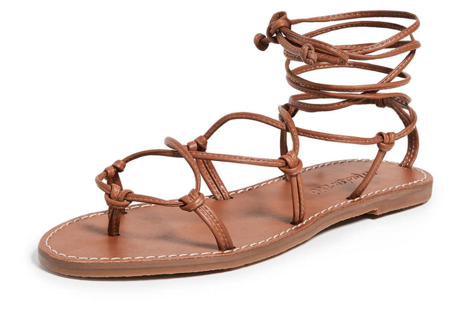 madewell, sandals