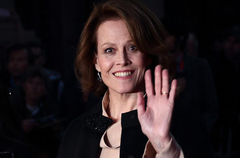 Sigourney Weaver at the London premiere of 'A Monster Calls' (Credit: WENN.com)
