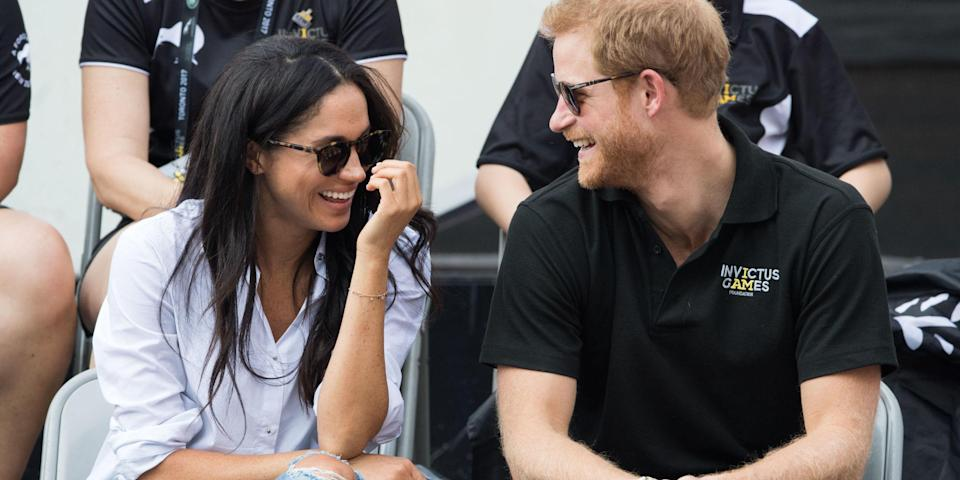 The pair are smitten with each other. Copyright: [Rex]