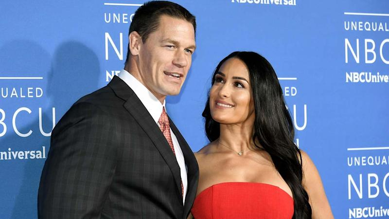 Nikki Bella is 'speechless' following John Cena's candid Today show interview