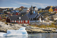"""<p>Described as """"the new Iceland"""", Greenland is having a moment. The world's largest island celebrates ten years of self-rule in 2019, and its first proper luxury accommodation was unveiled last year at Kiattua, a luxury camp in the remote Nuuk fjord area. It may be a bit further, and colder, than Iceland, but it offers epic Arctic adventures, such as extreme heli-skiing, dogsledding and sea kayaking among towering icebergs. <em>[Photo: Getty]</em> </p>"""