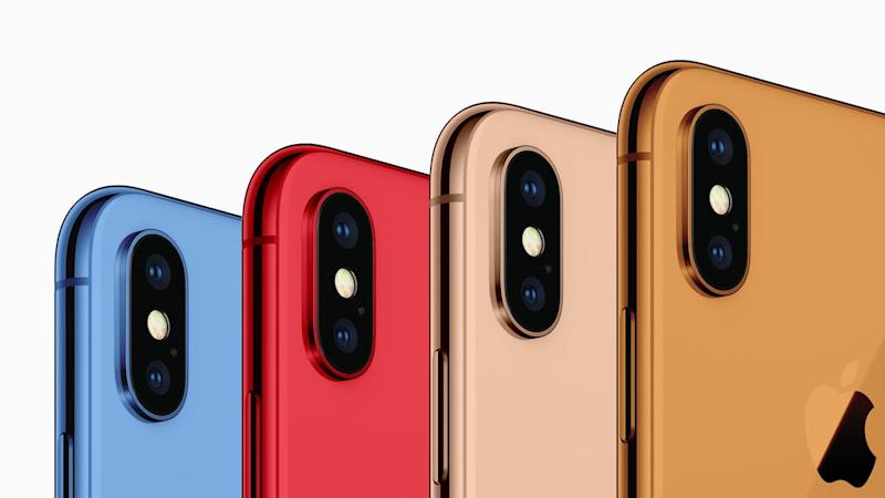 IPhone XS and its bigger sibling get pictured in leaked renders