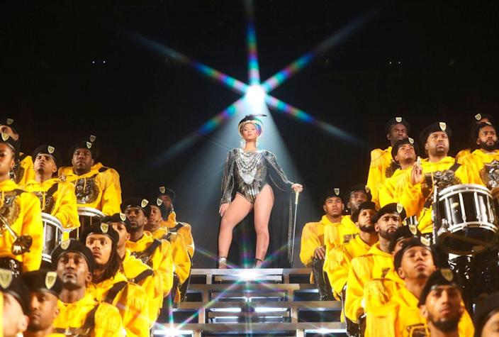 """A scene from Beyonce's Netflix documentary """"Homecoming."""""""
