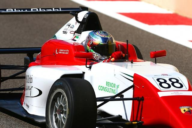 Female UAE F4 racer wins F1 support race