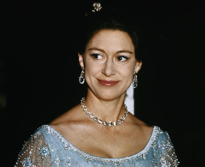 (Original Caption) Closeups of Britain's Princess Margaret.