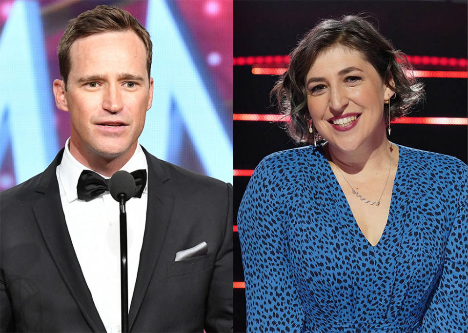 Mike Richards and Mayim Bialik will share Jeopardy! hosting duties (Photos: Getty Images)